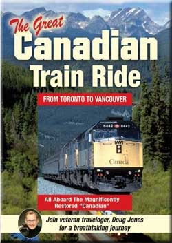 Great Canadian Train Ride From Toronto to Vancouver Train Video Total Content TCV108 820337108077