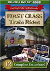 First Class Train Rides 4 DVD Set - 12 Complete Excursions - 10 Hours