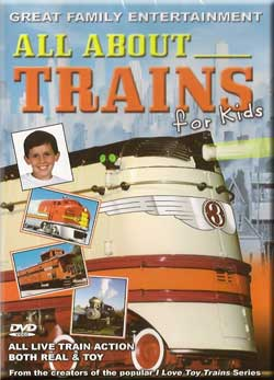 All About Trains for Kids Train Video TM Books and Video TM-AATFK 780484536041