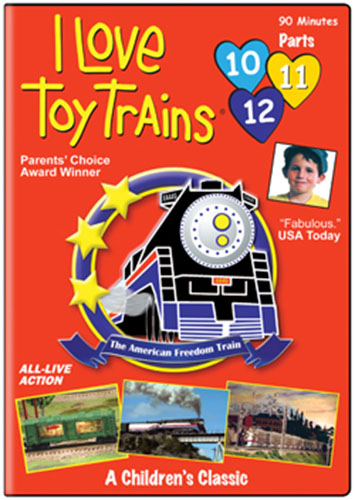 I Love Toy Trains Parts 10 11 12 Train Video TM Books and Video TM-ILTT101112 780484633535