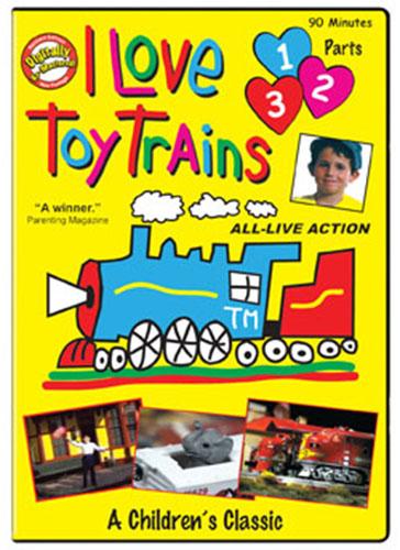 I Love Toy Trains Parts 1 2 3 Train Video TM Books and Video TM-ILTT123 780484536737