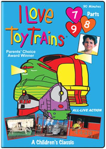 I Love Toy Trains Parts 7 8 9 TM Books and Video TM-ILTT789 780484631838