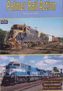 Palmer Rail Action Vol 1 DVD Broken Knuckle Video Productions BKPAL1-DVD