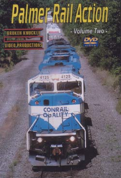 Palmer Rail Action Vol 2 DVD Broken Knuckle Video Productions BKPAL2-DVD