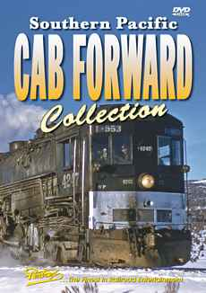 Southern Pacific Cab Forward Collection DVD Train Video Pentrex PCCF-DVD 748268004957