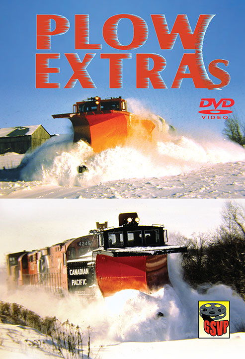 Plow Extras on DVD by Greg Scholl Train Video Greg Scholl Video Productions PLOWX 604435013897