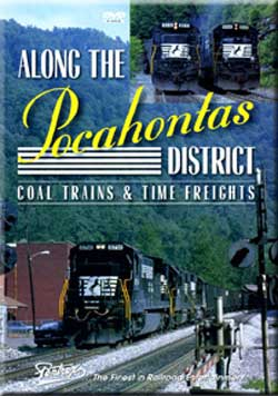Along the Pocahontas District DVD Train Video Pentrex POKEY-DVD 748268005039