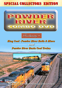 Powder River Combo DVD Train Video Pentrex PRB12-DVD 748268004087