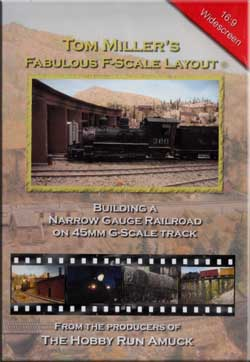 Tom Millers Fabulous F-Scale Layout Train Video Pacific Vista 209330 718122209330