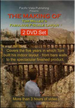 The Making of Tom Millers Fabulous F-Scale Layout 2-DVD Set Pacific Vista 844144 837654844144