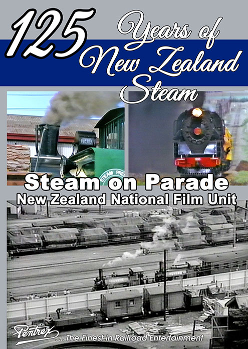 125 Years of New Zealand Steam - Steam on Parade DVD Pentrex NZ125-DVD