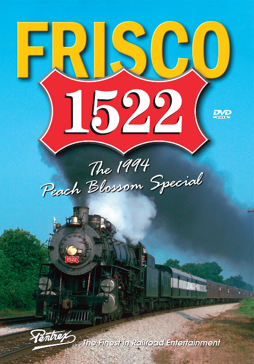 Frisco 1522 - The 1994 Peach Blossom Special DVD Train Video Pentrex 1522-DVD 748268005848