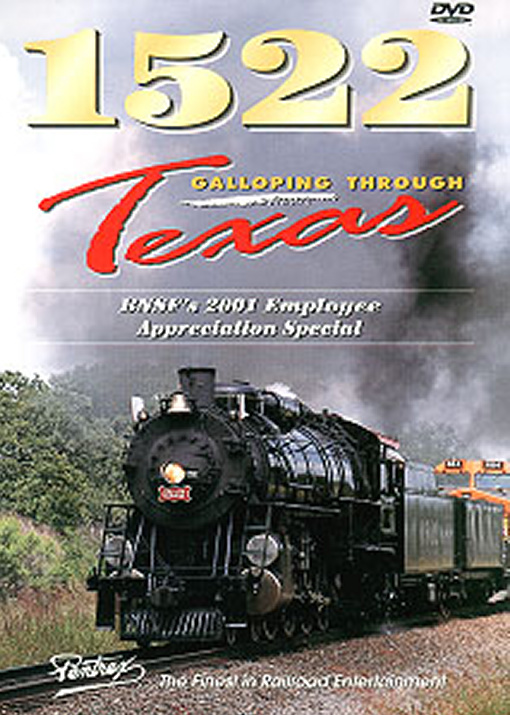 1522 Galloping Through Texas DVD Train Video Pentrex 1522GT-DVD 748268003837