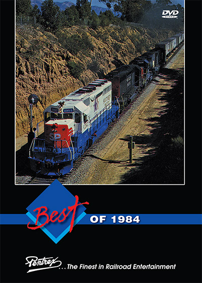 Best of 1984 DVD Train Video Pentrex 1984-DVD 748268006340