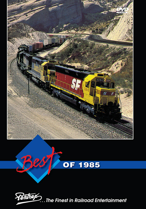 Best of 1985 DVD Train Video Pentrex 1985-DVD 748268006357