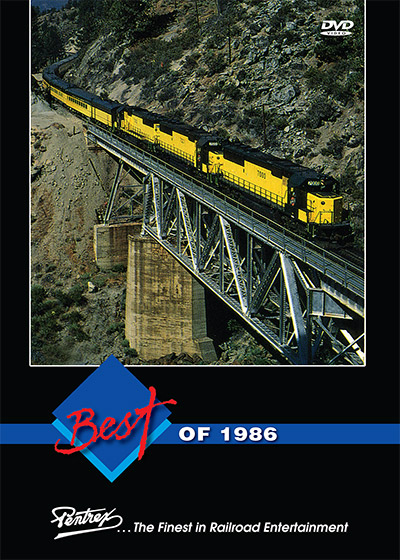 Best of 1986 DVD Train Video Pentrex 1986-DVD 748268006364