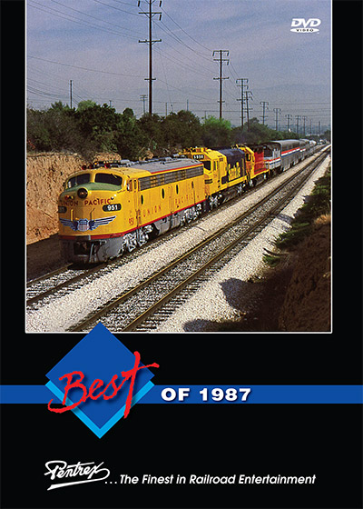 Best of 1987 DVD Train Video Pentrex 1987-DVD