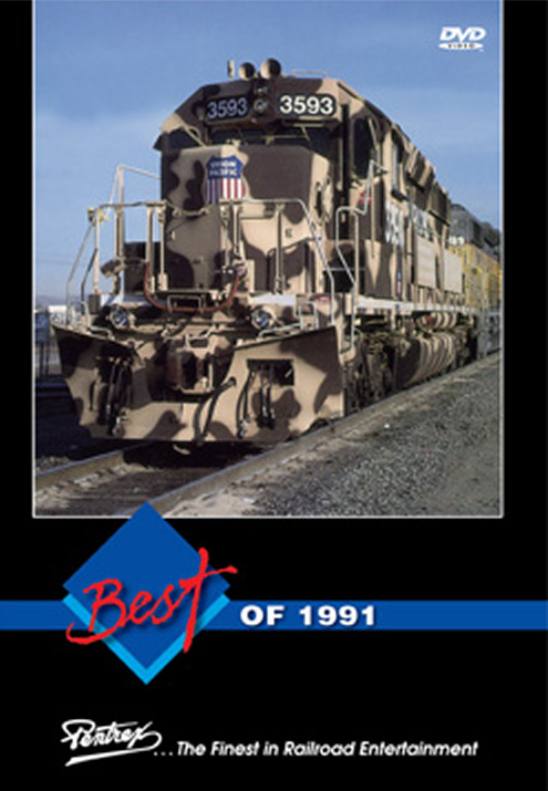 Best of 1991 Train Video Pentrex 1991-DVD 748268005664