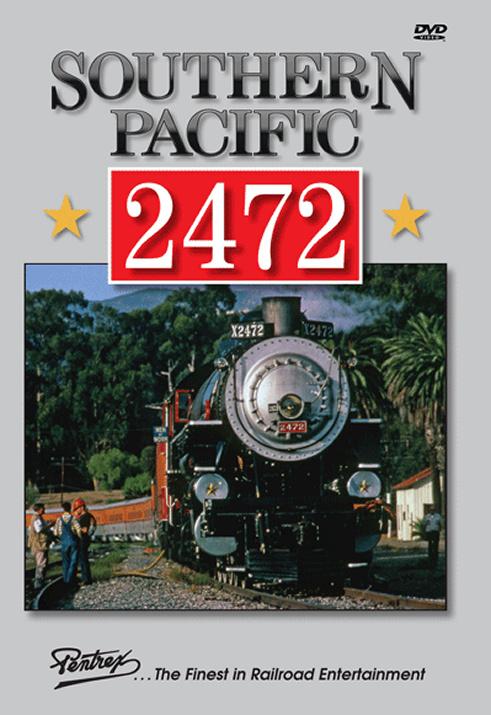 Southern Pacific 2472 DVD Pentrex 2472-DVD 748268006289