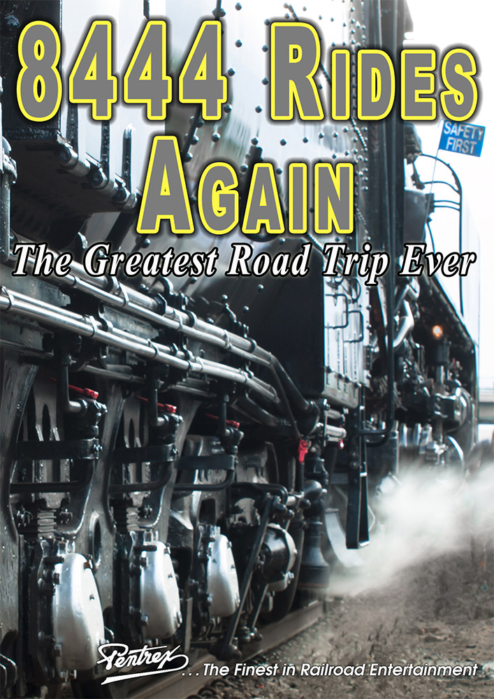 8444 Rides Again - The Greatest Road Trip Ever DVD Pentrex VR018-DVD