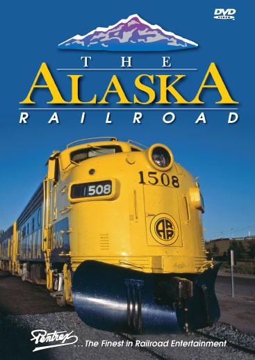 Alaska Railroad DVD Train Video Pentrex ALASKA-DVD 748268004797