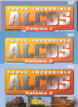 Those Incredible Alcos Box Set Vols 1, 2, and 3 3-Disc Set Pentrex ALCO-SET
