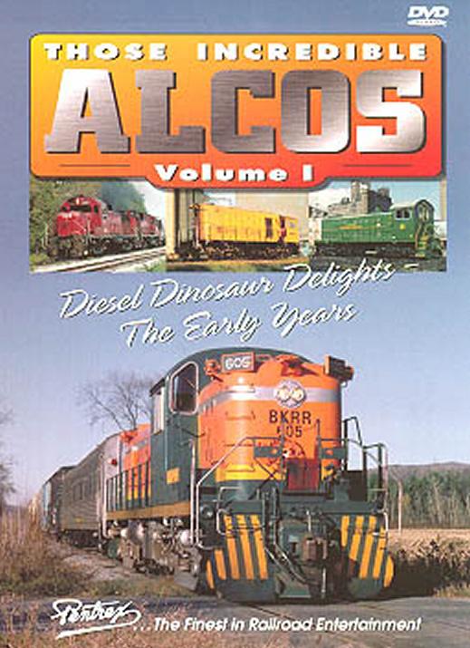 Those Incredible Alcos Vol 1 DVD Pentrex ALCO1-DVD 748268004315