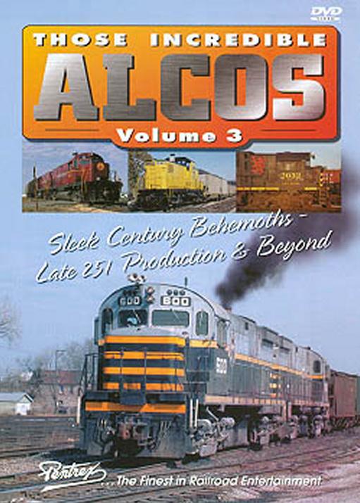 Those Incredible Alcos Vol 3 DVD Pentrex ALCO3-DVD 748268004339