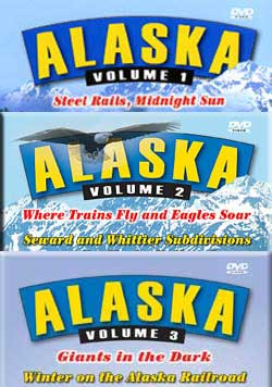 Alaska 3-DVD Set Vols 1, 2 and 3 Pentrex ALX-SET