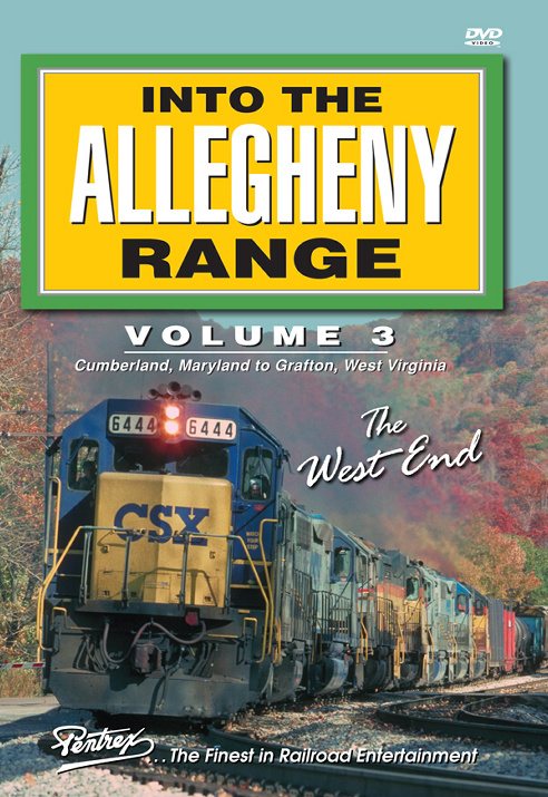 Into the Allegheny Range Volume 3 The West End 2-disc DVD Pentrex AR3-DVD 748268005879