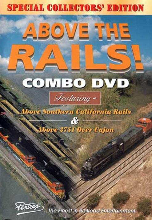 Above the Rails Combo DVD Train Video Pentrex ATRC-DVD 748268003905