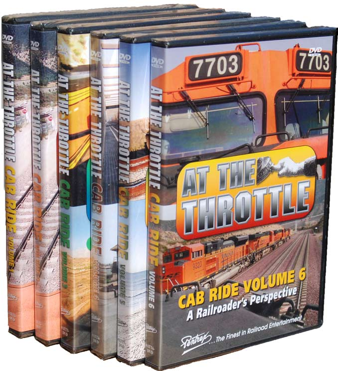 At the Throttle Cab Ride 6 DVD Set Vols 1-6 Pentrex Pentrex ATTSET
