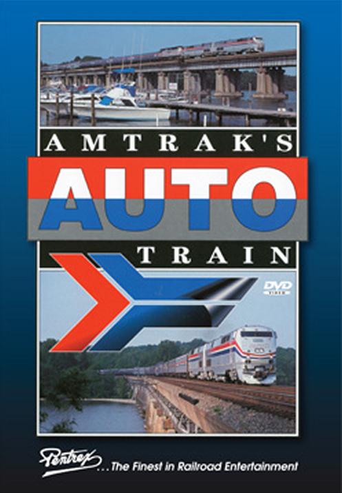 Amtraks Auto Train DVD Train Video Pentrex AUTOTRN-DVD 748268005794