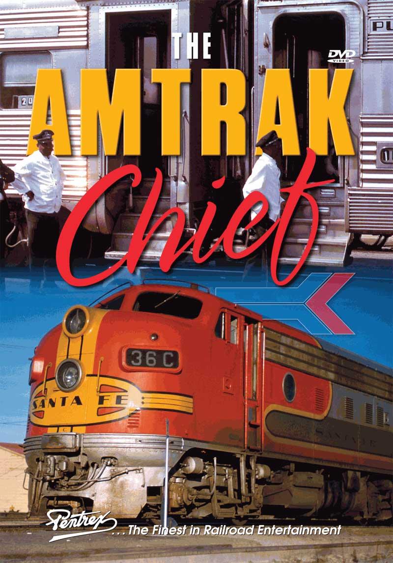 Amtrak Chief DVD Train Video Pentrex AMCHIEF-DVD