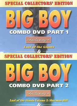 Big Boy Combo 2-DVD Set Train Video Pentrex BBC-SET