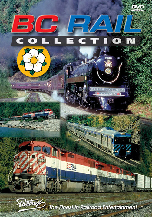 BC Rail Collection DVD Train Video Pentrex BCRAIL-DVD 748268004810