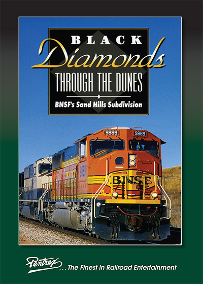 Black Diamonds Through the Dunes BNSFs Sand Hills Sub DVD Train Video Pentrex BDTD-DVD 748268006586