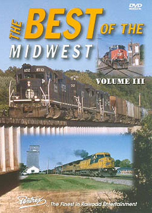 Best of the Midwest Vol 3 DVD Train Video Pentrex BMW3-DVD 748268004551