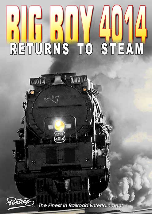 Big Boy 4014 Returns to Steam DVD Pentrex 4014RTS-DVD 634972959341