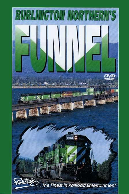 Burlington Northerns Funnel DVD Train Video Pentrex FUNNEL-DVD 748268000409