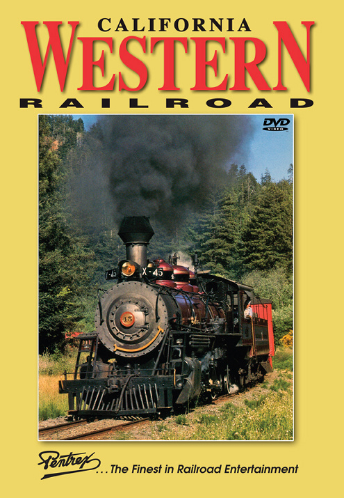 California Western Railroad Skunk Train DVD Train Video Pentrex CALW-DVD 748268006210