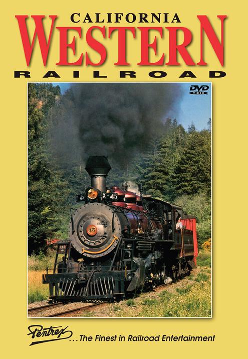 California Western Railroad Skunk Train DVD Pentrex CALW-DVD 748268006210