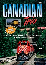 Canadian Trio 3 Shows on One DVD