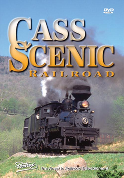 Cass Scenic Railroad DVD Pentrex CASS-DVD 748268005206