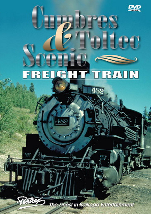 Cumbres & Toltec Scenic Freight Train DVD Train Video Pentrex CATSF-DVD 748268004865