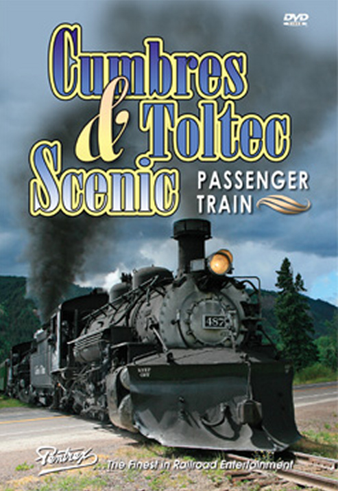 Cumbres and Toltec Scenic Passenger Train DVD Train Video Pentrex CATSP-DVD 748268005268
