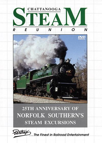 Chattanooga Steam Reunion DVD Pentrex CHAT-DVD 748268006487