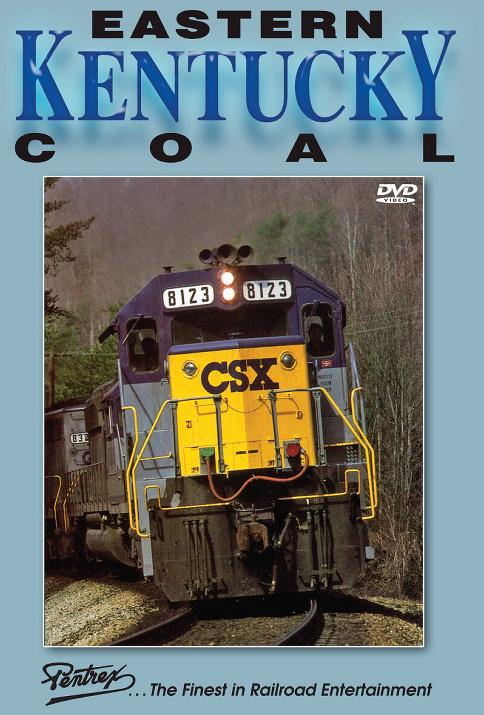 Eastern Kentucky Coal DVD Train Video Pentrex COAL-DVD 748268006227
