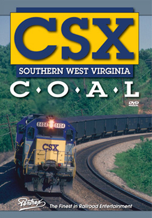 CSX Southern West Virginia Coal DVD Train Video Pentrex CSXC-DVD 748268005503