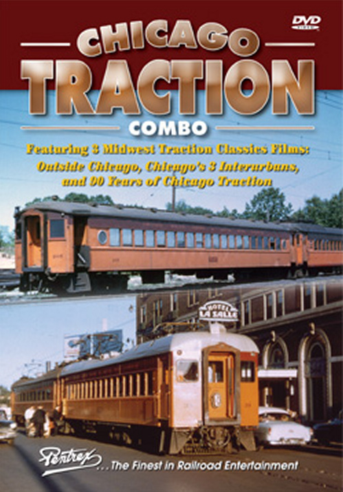 Chicago Traction Combo DVD Pentrex DVD Train Video Pentrex CTC-DVD 748268005374